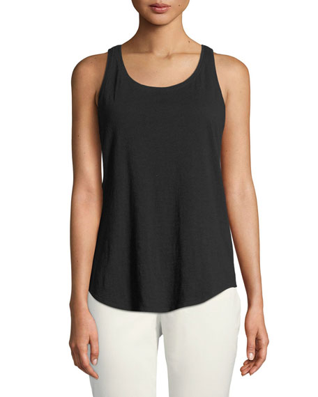 Eileen Fisher Slub Organic Cotton Tank