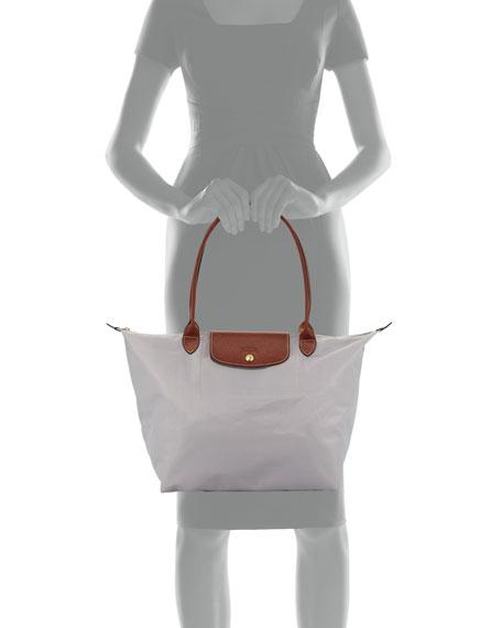 Le Pliage Large Monogram Shoulder Tote Bag