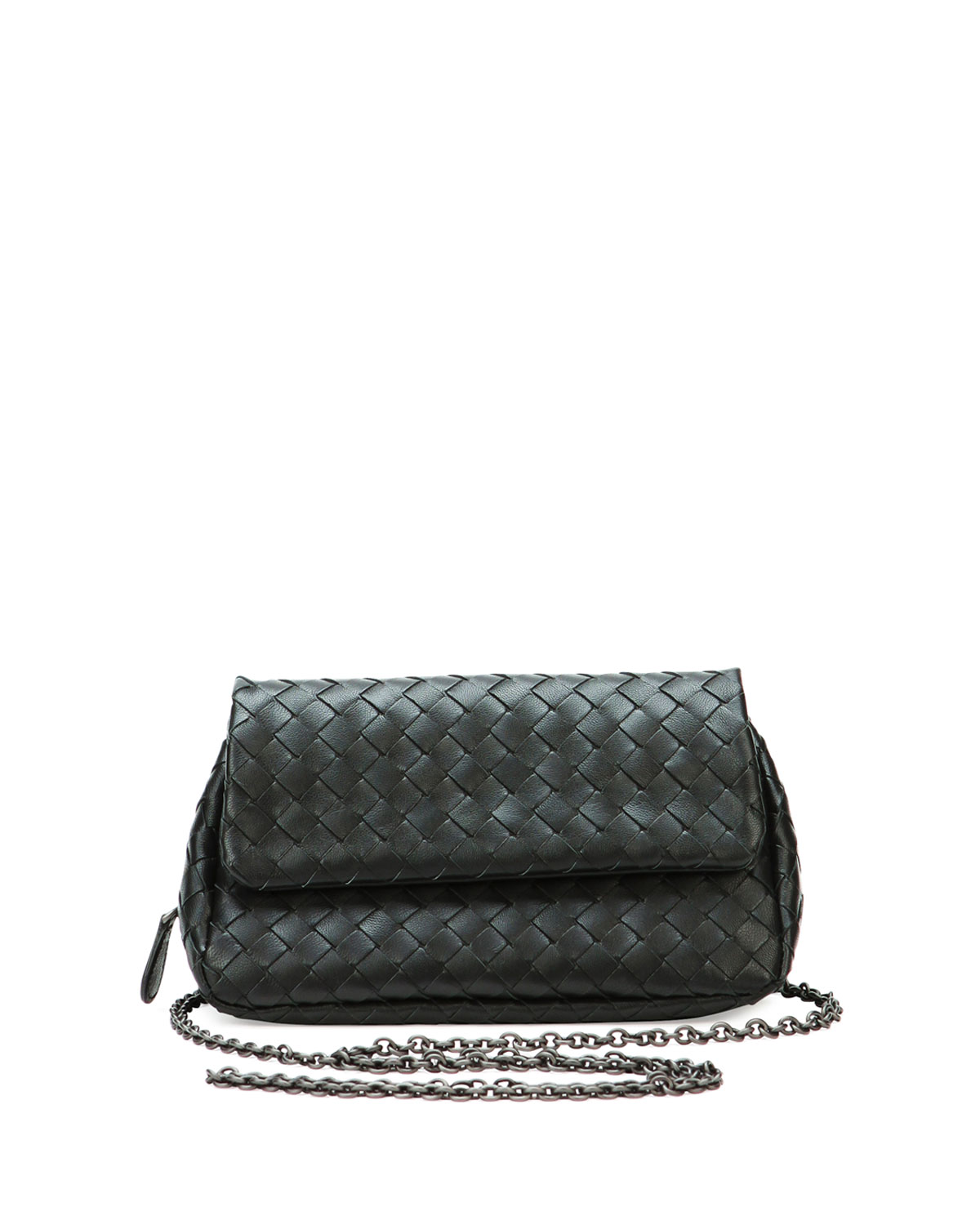 Bottega Veneta Intrecciato Small Chain Crossbody Bag  71d437b7c9f33
