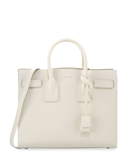 Sac de Jour Small Satchel Bag, White