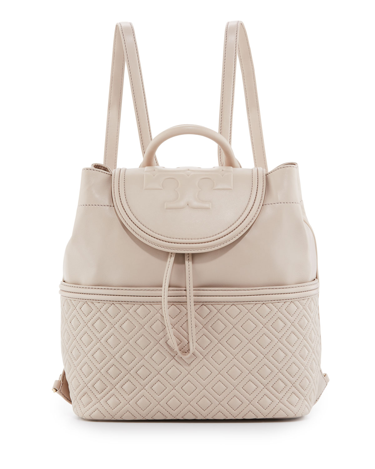 c0719260577 Tory Burch Fleming Quilted Leather Backpack