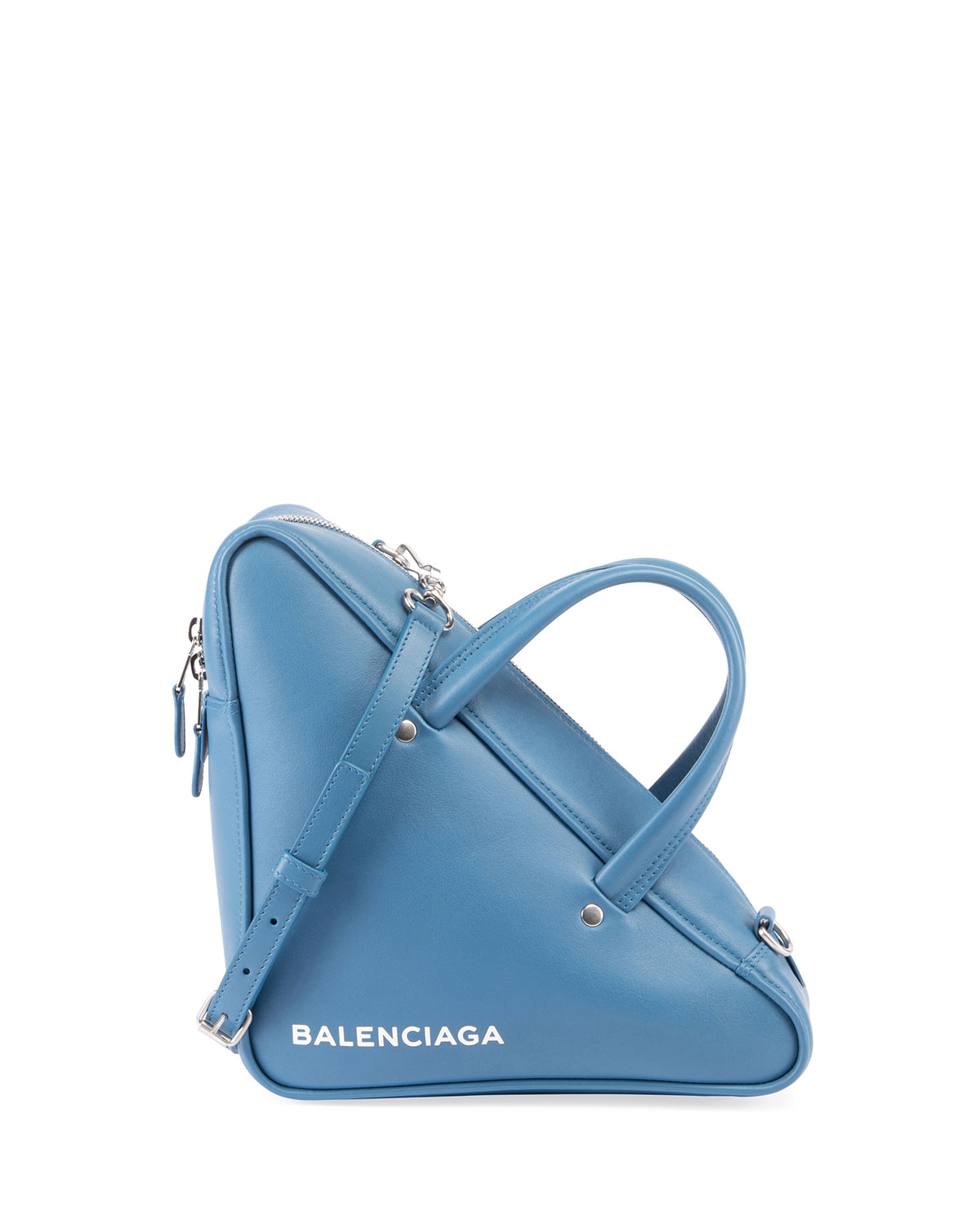 a29d6d46ae94 Balenciaga Triangle Duffel Small Leather Bag