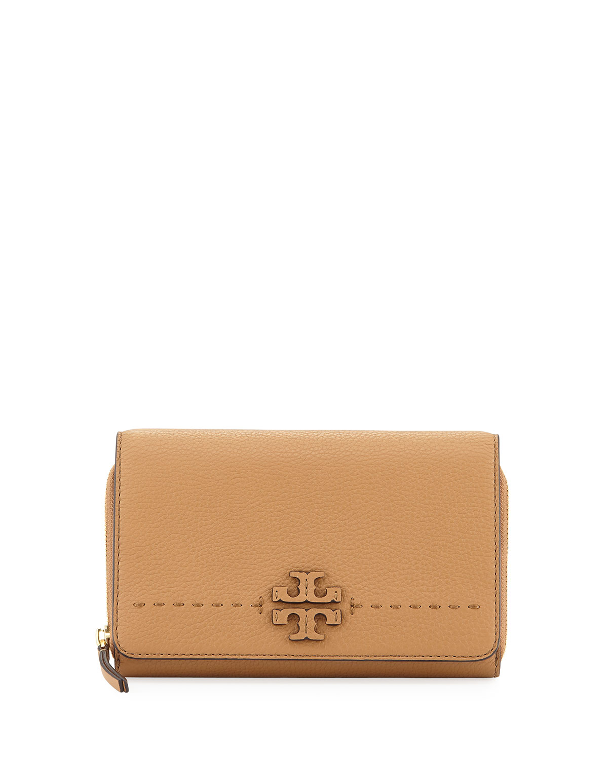 79a7fe1adc65 Tory Burch McGraw Flat Crossbody Wallet Bag