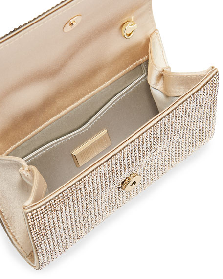 Judith Leiber Couture Crystal-Embellished Crossbody Bag