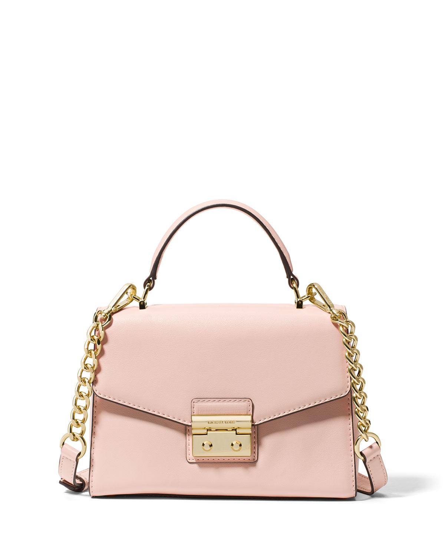 671fbd75fc MICHAEL Michael Kors Sloan Small Polished Leather Satchel Bag ...