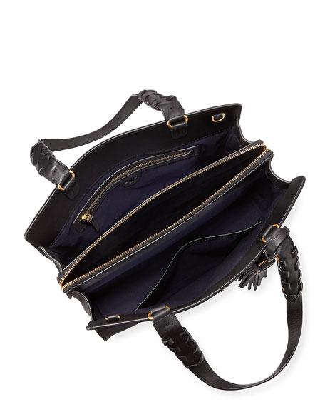 Brooke Smooth Leather Satchel Bag