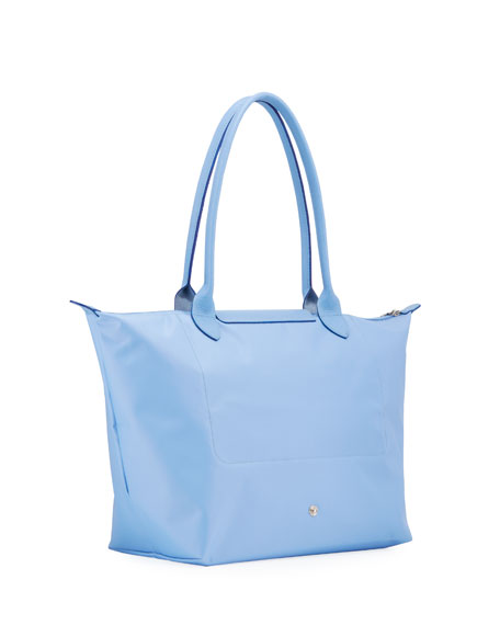 Image 3 of 4: Le Pliage Club Large Nylon Shoulder Tote Bag