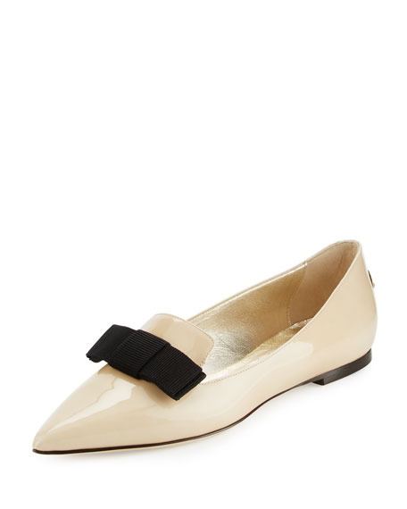Jimmy Choo Cap-Toe Lace-Trimmed Flats sale sneakernews cheap recommend wide range of sale online comfortable cheap price FpjYZdK