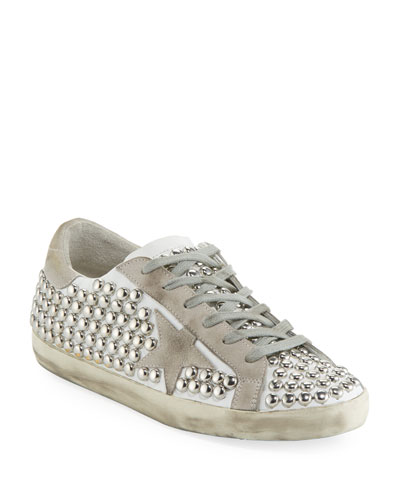 Superstar Old Studded Low-Top Sneaker  White