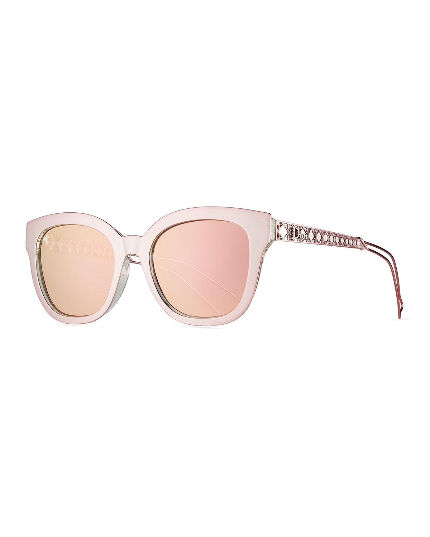 1528ca7a317 Dior Diorama Caged Mirrored Sunglasses