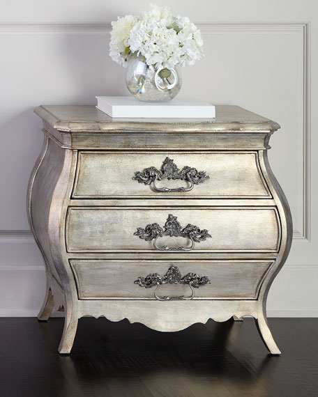 Image 1 of 4: Hooker Furniture Hadleigh Three-Drawer Nightstand