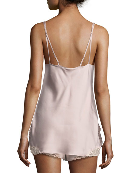 Feathers Satin Lounge Camisole