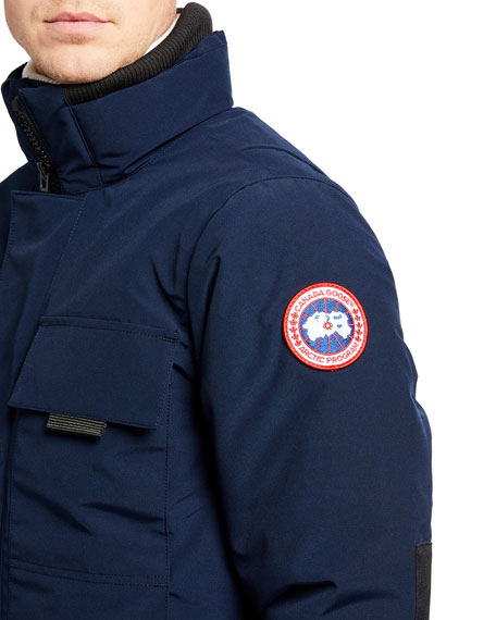 Image 5 of 5: Canada Goose Men's Forester Water-Resistant Jacket