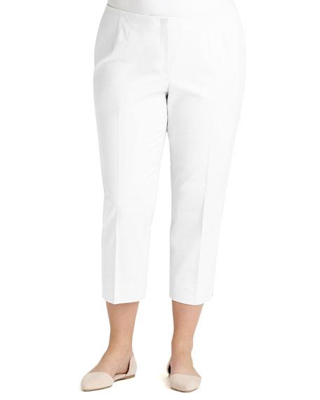 Lafayette 148 New York Plus Size Bleecker Cropped Pants