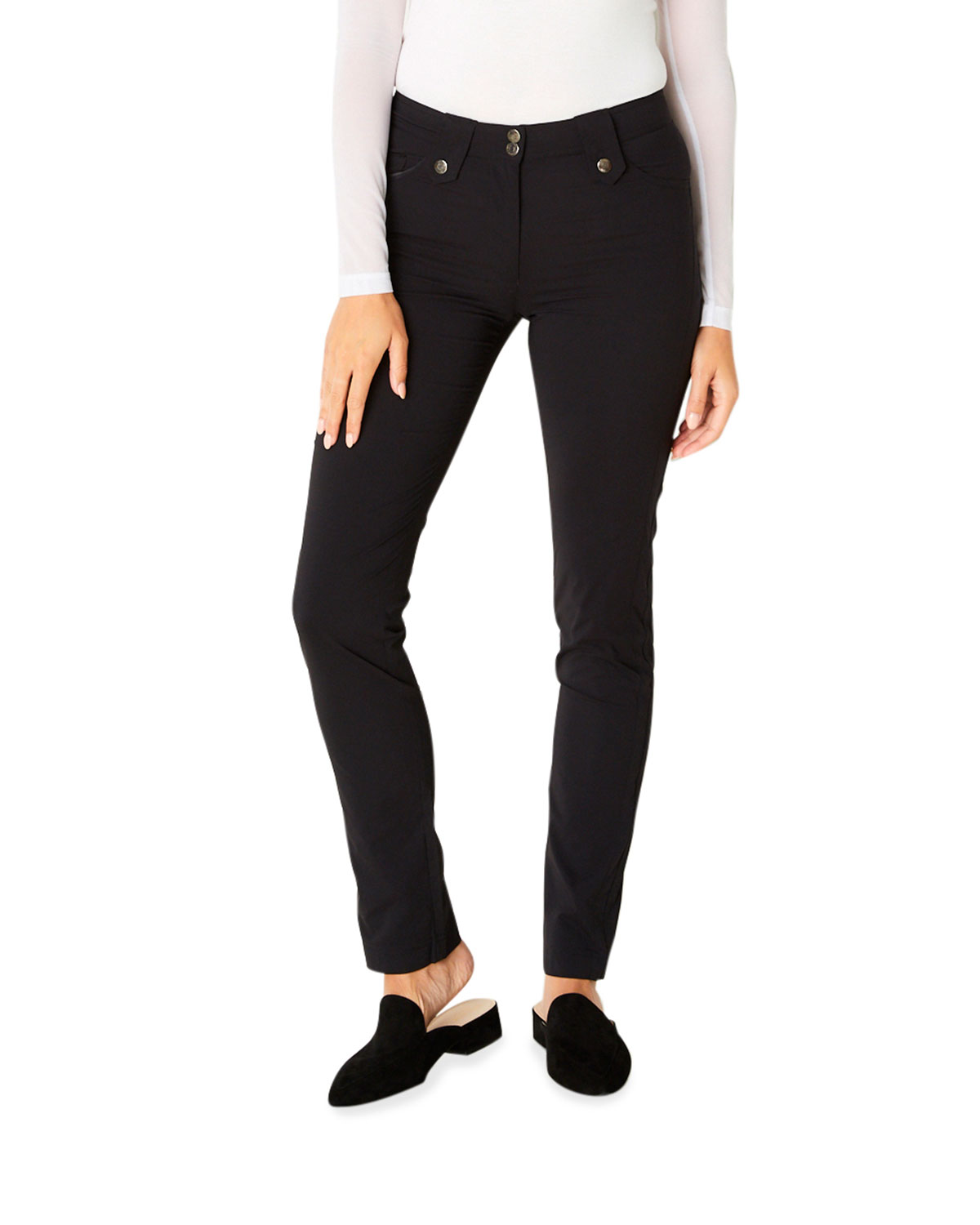 Anatomie Skyler Five Pocket High Rise Pants Neiman Marcus
