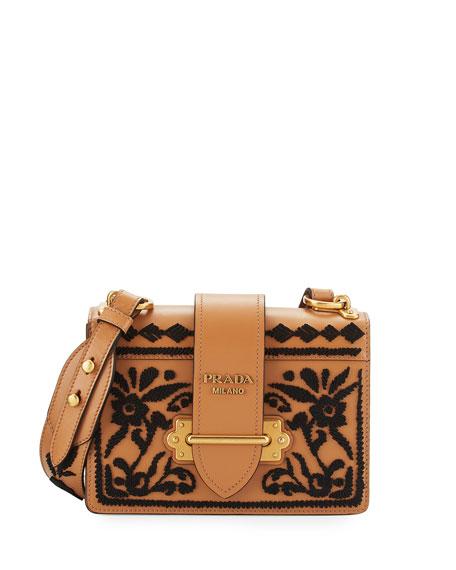 Prada Cahier City Calf shoulder bag With Mastercard Cheap Online RbtDNIn
