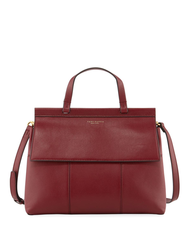 0d1029e0e7b4 Tory Burch Block-T Top-Handle Satchel Bag
