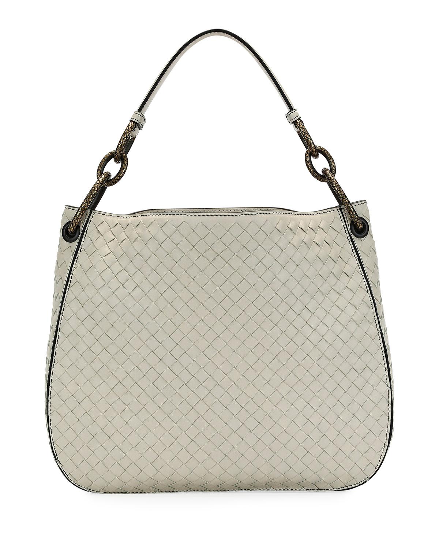 Off White Bag Neiman Marcus Clutches Evening Bags Crossbody Hobo Shoulder Top Quick Look Bottega Veneta Small Loop Intrecciato Woven