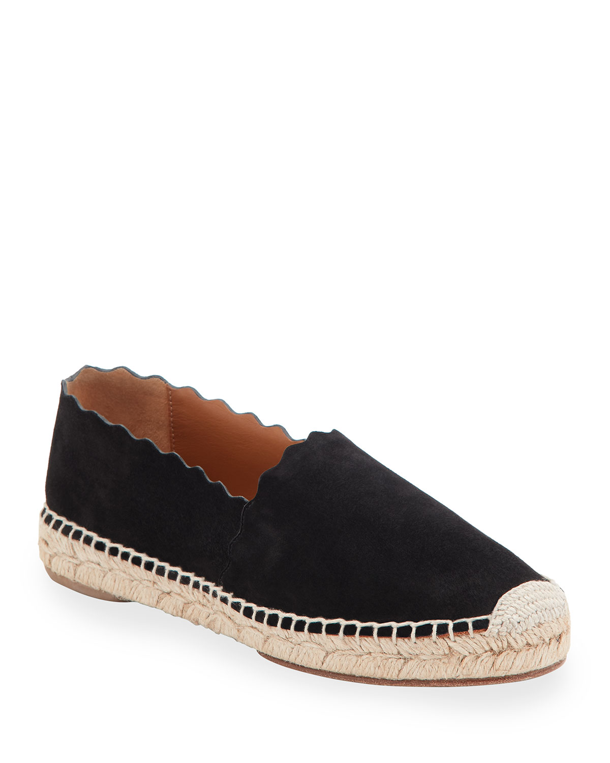 337b3402df Lauren Scalloped Espadrille Flat
