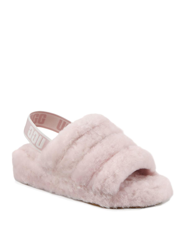 350d18c740b UGG Fluff Yeah Shearling Sandal Slippers