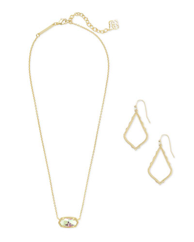 Sophia Earrings & Elisa Necklace Gift Set