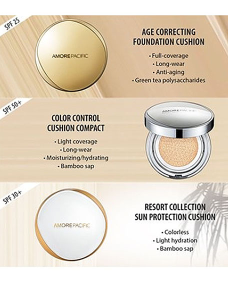 Image 3 of 6: AMOREPACIFIC Age Correcting Foundation Cushion Broad Spectrum SPF 25