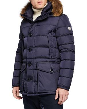 2695fb1222 Men's Designer Coats & Jackets at Neiman Marcus