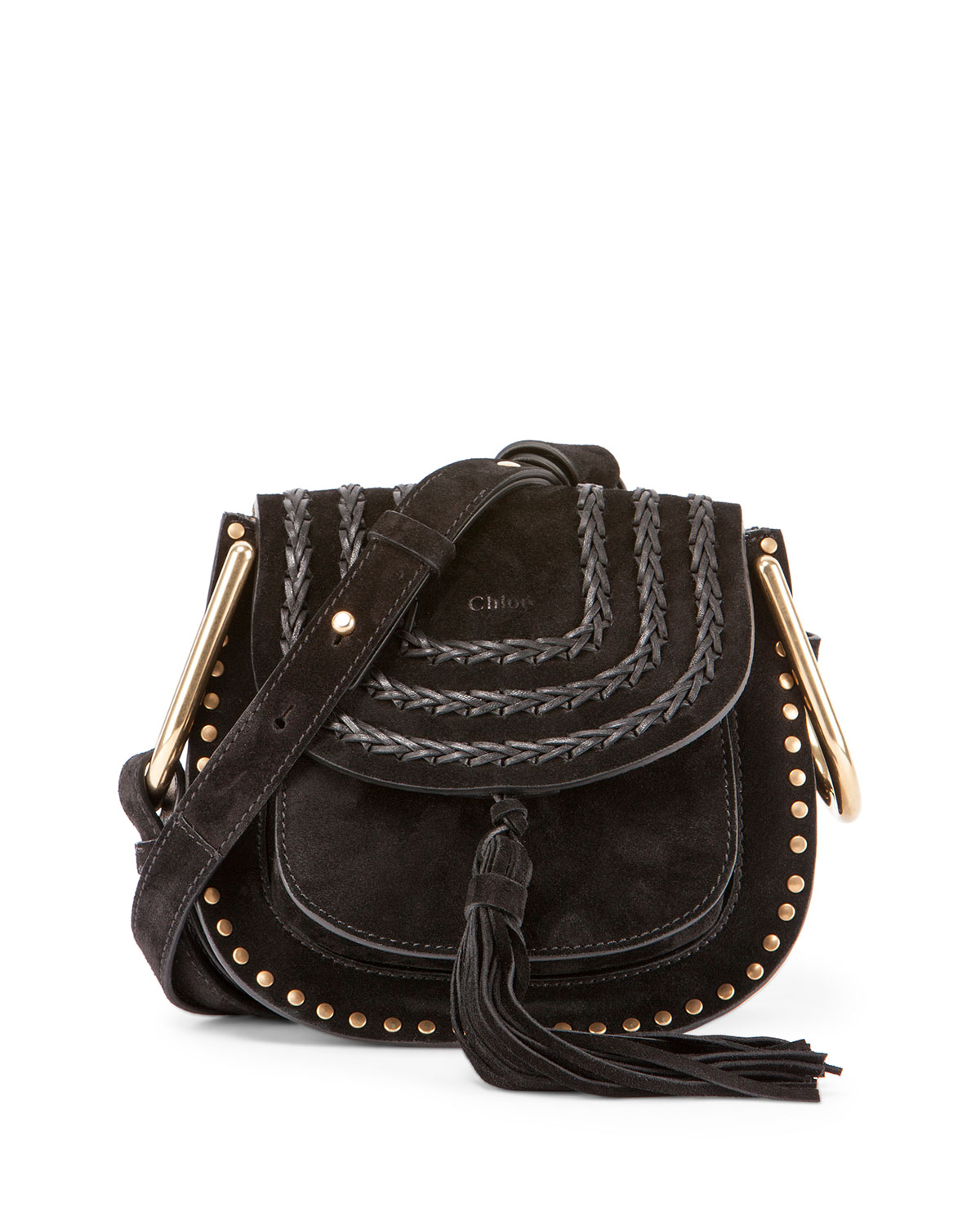 4f8f6532 Hudson Mini Suede Shoulder Bag