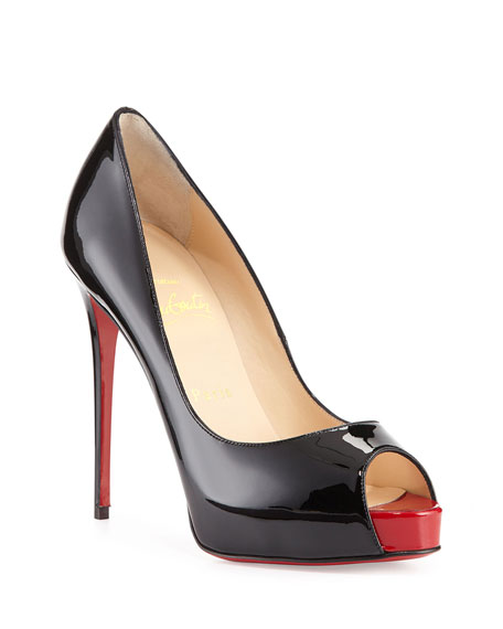 4744e3df57f1 Christian Louboutin New Very Prive Patent Red Sole Pump