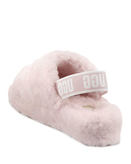 Image 5 of 5: UGG Fluff Yeah Shearling Sandal Slippers
