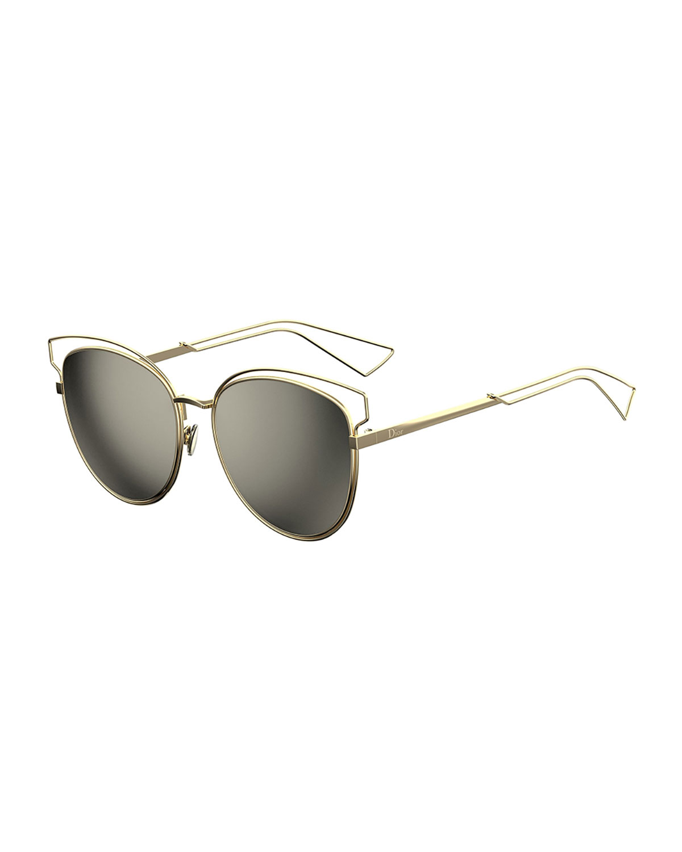 57a454f4314a Dior Sideral 2 Metal Sunglasses