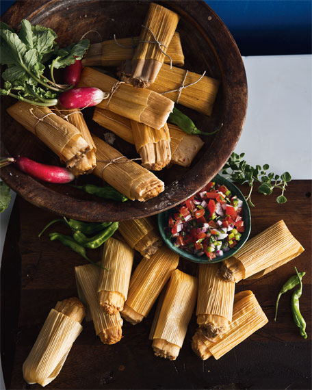 Image 3 of 4: 72 Handmade Tamales, For 18-24 People