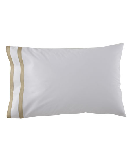 Matouk Two Standard 350 Thread Count Marlowe Pillowcases