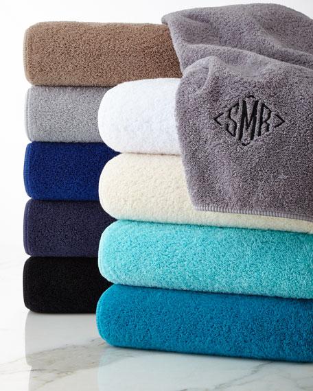 Armani Towels Online: GRACCIOZA Long Double Loop Bath Towel