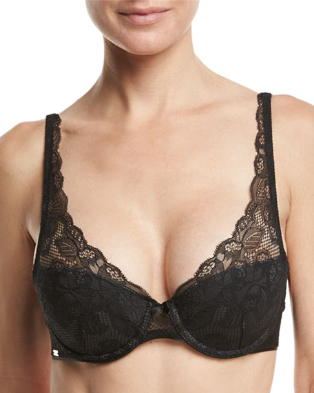 Chantelle Molitor Lace Convertible Plunge Bra