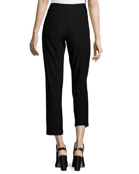 Crepe Ankle Pants