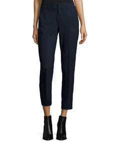 Vince Side Strapping Pants Black