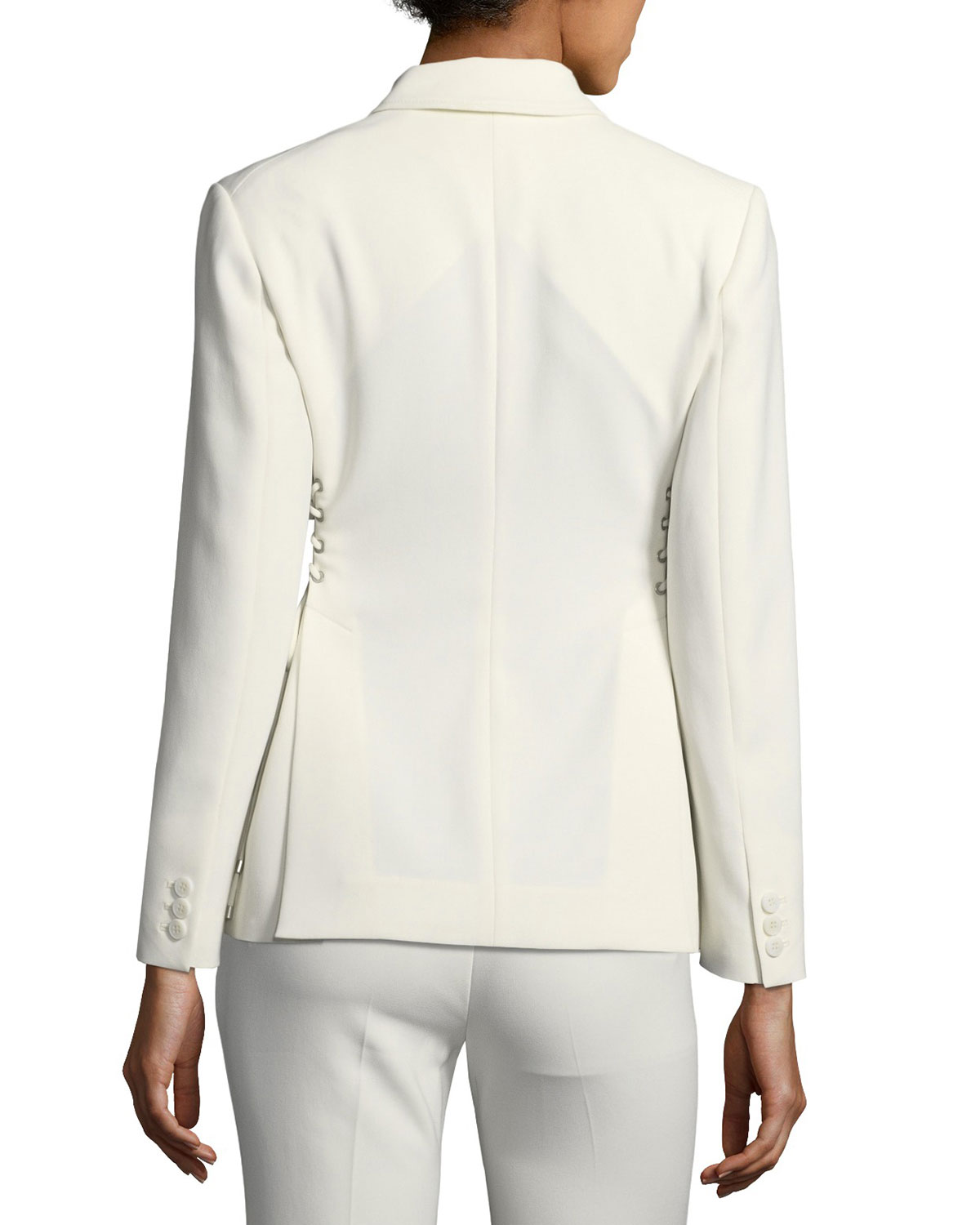 83ece3c8d1a Theory Laced Admiral Crepe Jacket   Neiman Marcus