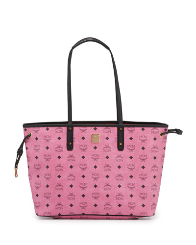 Custom Shopper Project Visetos Reversible Tote Bag, Pink