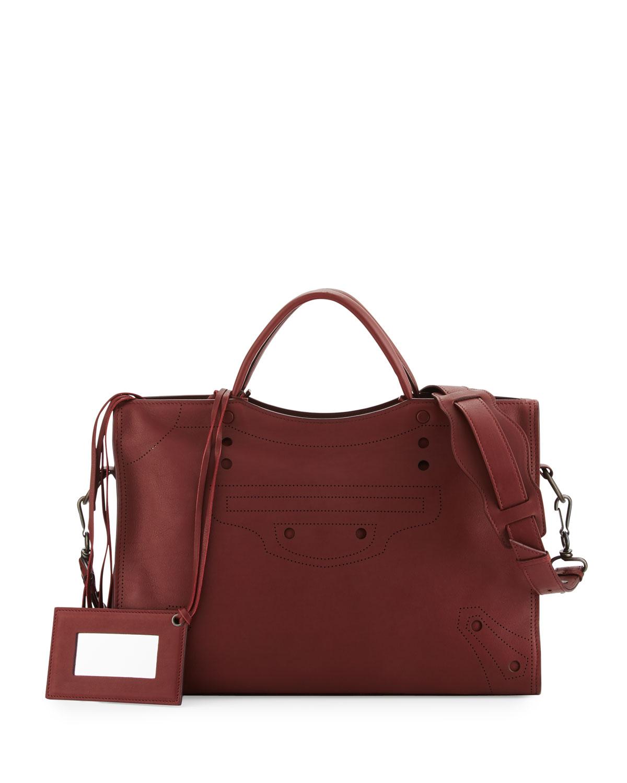 83b49b8bd3a9 Balenciaga Blackout City AJ Shoulder Bag