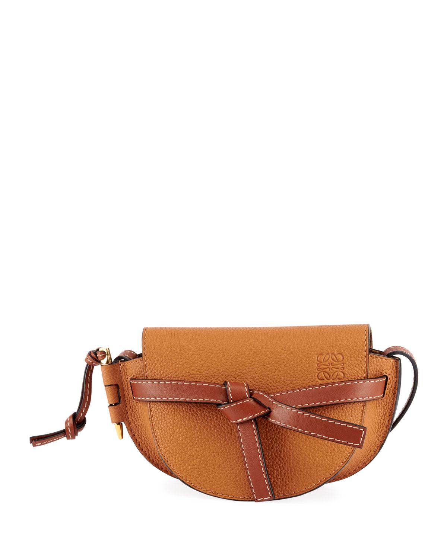 a92099a6d55 Gate Mini Grain Leather Shoulder Bag