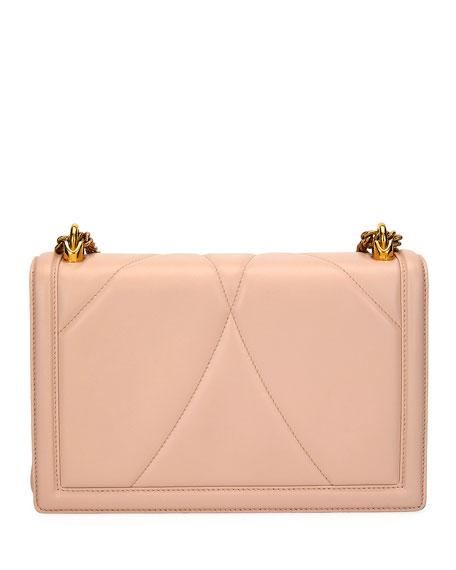 Dolce & Gabbana Devotion Medium Quilted Crossbody Bag