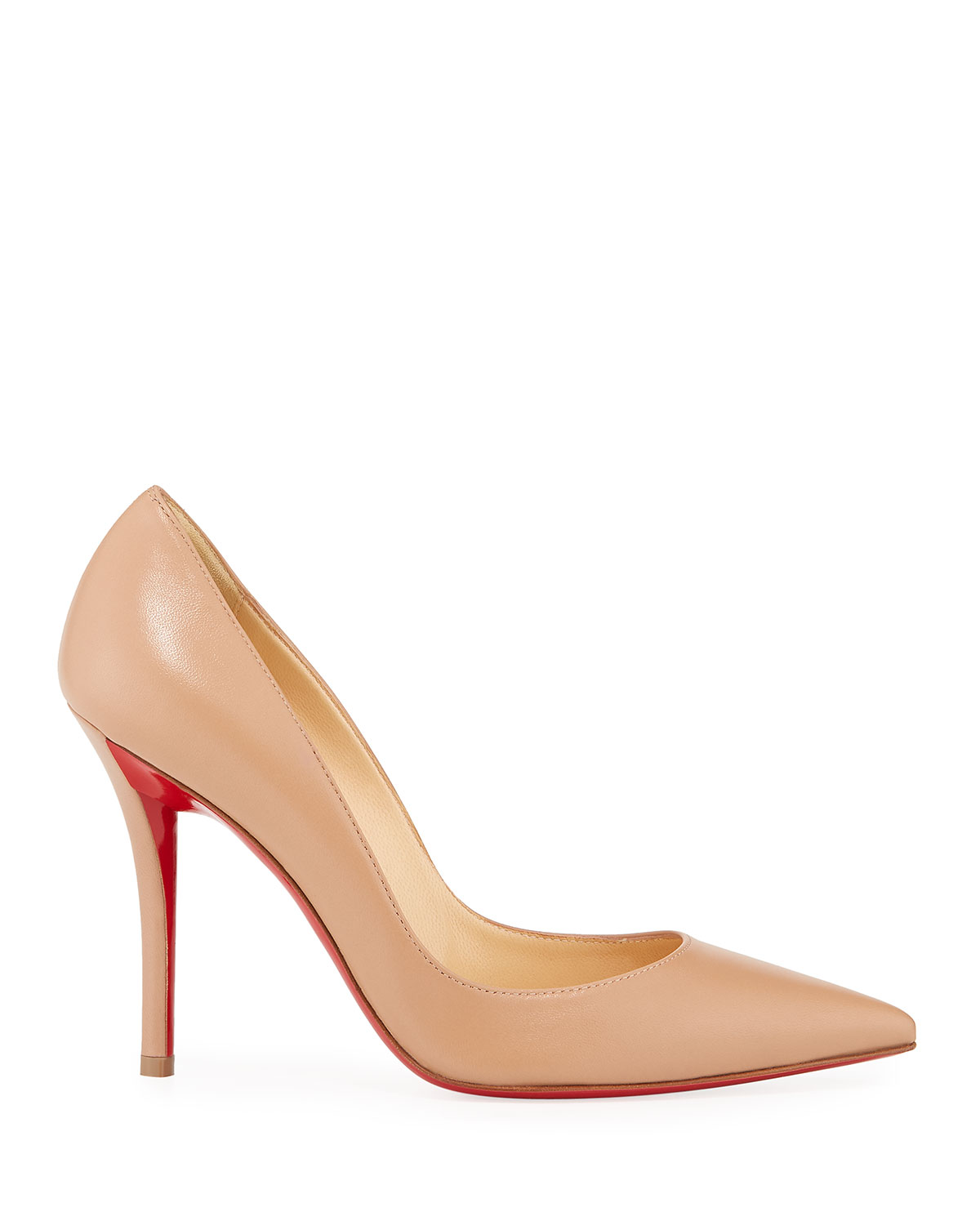73e550b4663 Apostrophy Pointed Red-Sole Pump