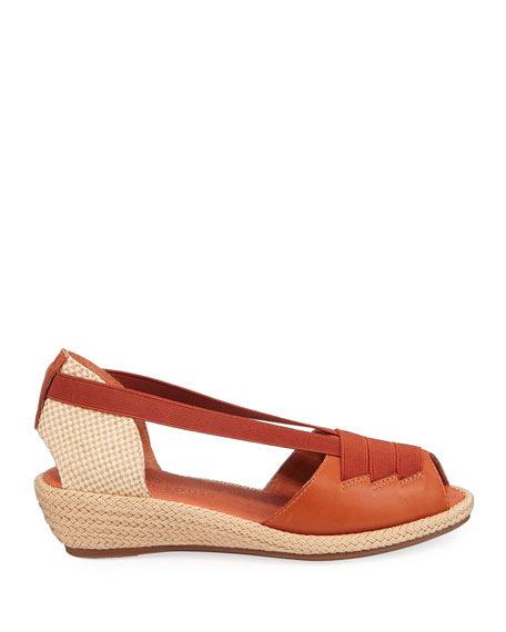Gentle Souls Luci Espadrille Leather Sandals