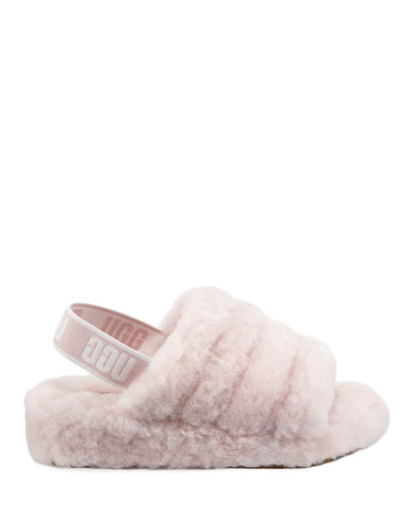 Image 3 of 5: UGG Fluff Yeah Shearling Sandal Slippers
