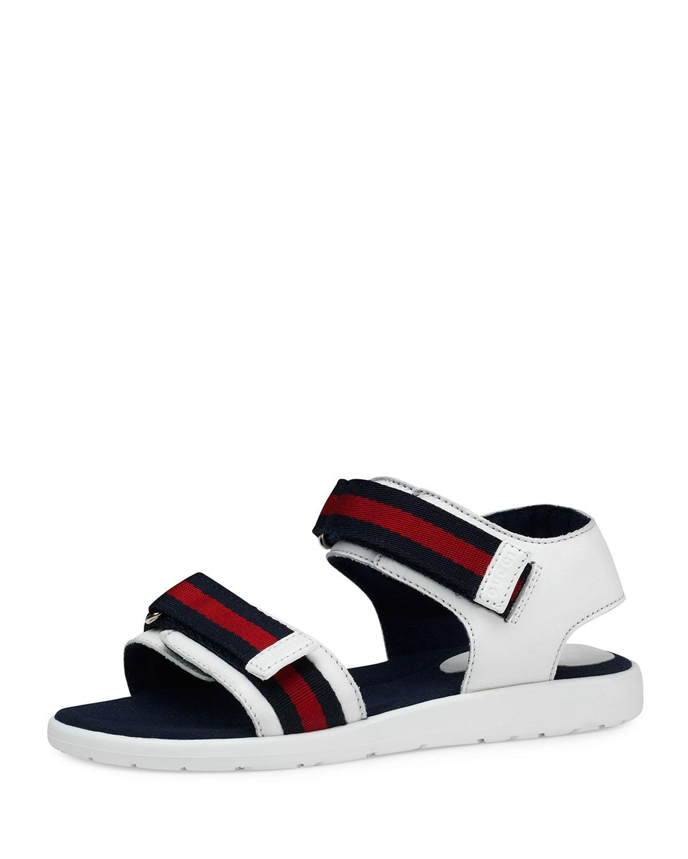 900d836910d75 Quick Look. Gucci · Leather Grip-Strap Sandals