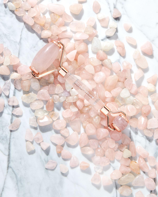 Beautybio Rose Quartz Facial Beauty Roller Neiman Marcus