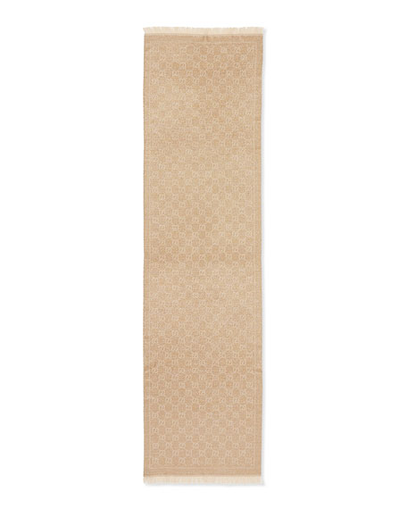 Shimmer Stencil Scarf