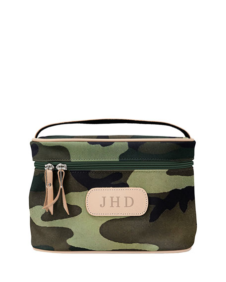 Jon Hart Coated Canvas Makeup Case