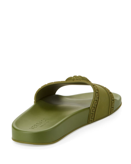 Men's Medusa & Greek Key Shower Slide Sandals